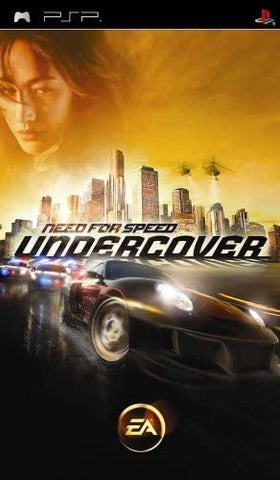 PSP- Need for Speed: Undercover
