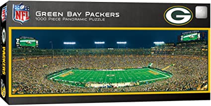 Puzzle- Green Bay Packers 1,000pc Panoramic Stadium Puzzle