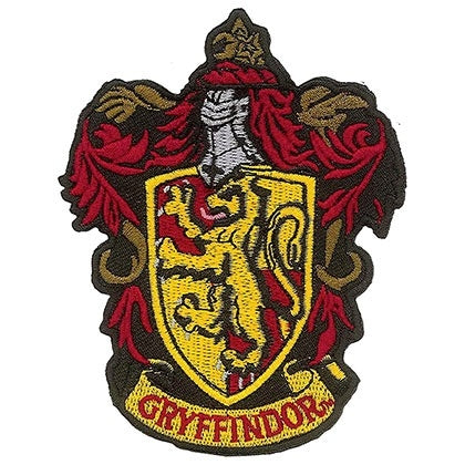 Gryffindor Iron-On Patch - Harry Potter