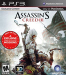 PS3- Assassin's Creed III