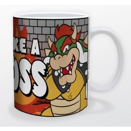 Mario- Bowser Like a Boss Mug