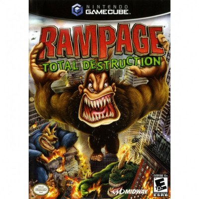 Gamecube- Rampage: Total Destruction