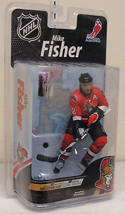 "NHL: Mike Fisher - Ottawa Senators 6"" McFarlane"