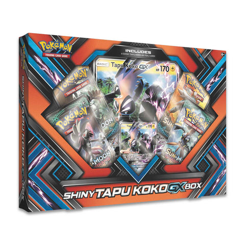 Pokémon Shiny Tapu Koko GX Collectors Box