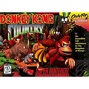 SNES- Donkey Kong Country