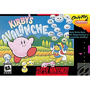 SNES- Kirby's Avalanche