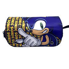 Sonic Leather Pencil Case