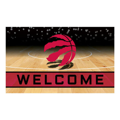 Welcome Door Mat: Toronto Raptors