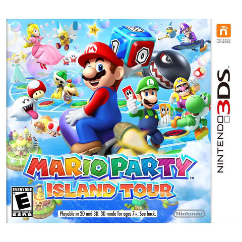 3DS- Mario Party: Island Tour