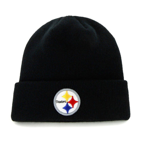 Pittsburgh Steelers Raised Cuff Knit Toque