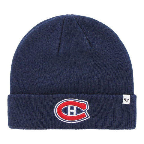 Raised Cuff Knit Toque Montreal Canadiens