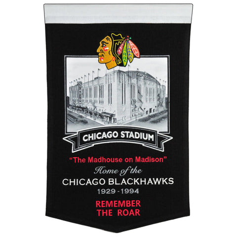 Chicago Blackhawks: Chicago Stadium Banner