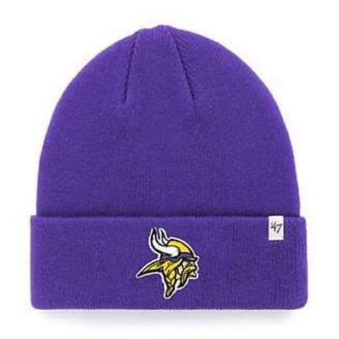 Minnesota Vikings Raised Cuff Knit Toque