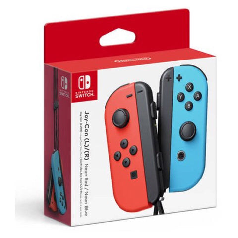 Neon Red/Neon Blue Joy-Con Controller for Switch