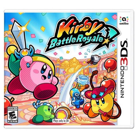 3DS- Kirby Battle Royale