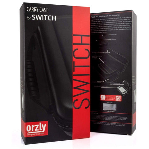 Switch Carrying Case Black - Orzly Brand