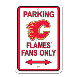Calgary Flames Reserved Parking Sign
