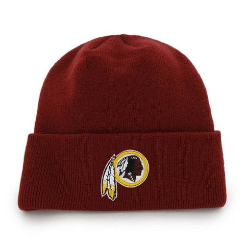 Washington Redskins Raised Cuff Knit Toque
