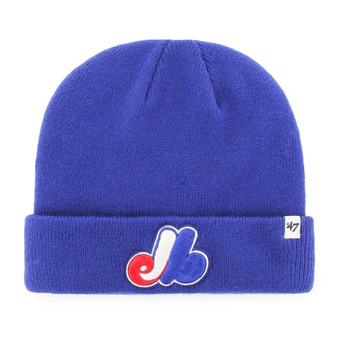 Montreal Expos Raised Cuff Knit Toque