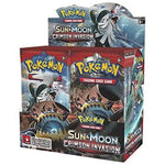 Pokémon TCG Booster Packs Sun & Moon- Crimson Invasion (6packs)