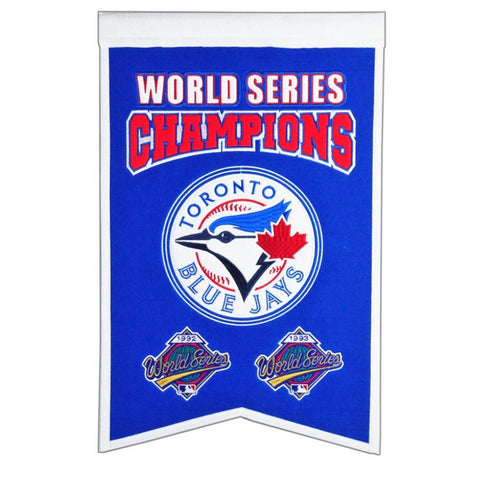 Toronto Blue Jays World Series Champions Banner