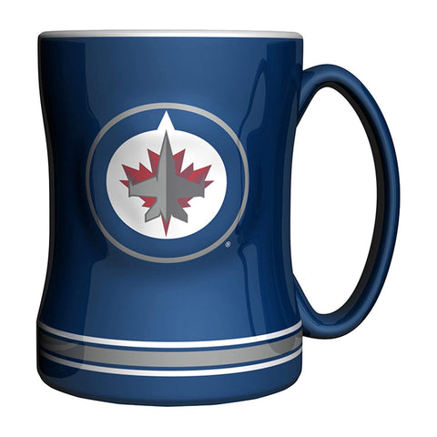 Winnipeg Jets Sculpted Mug