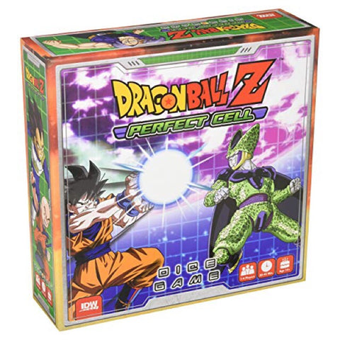 Dragon Ball Z Perfect Cell Dice Game