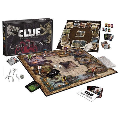 Clue: Game of Thrones Edition