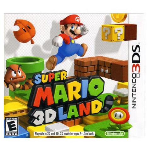 3DS- Super Mario 3D Land
