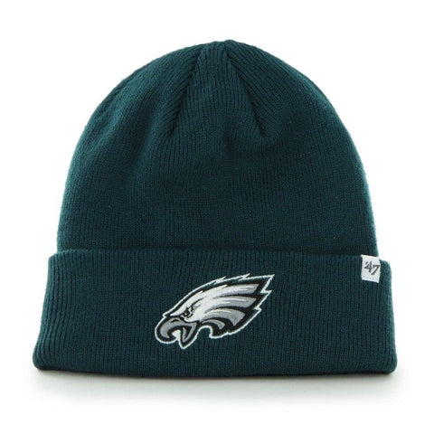 Philadelphia Eagles Raised Cuff Knit Toque