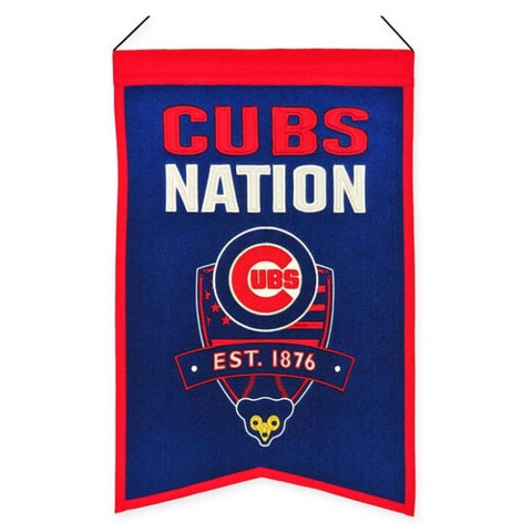 Chicago Cubs Nation Banner