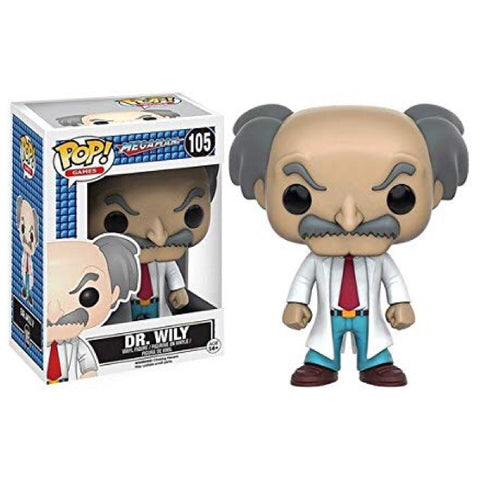 Mega Man: Dr. Wily POP Figure