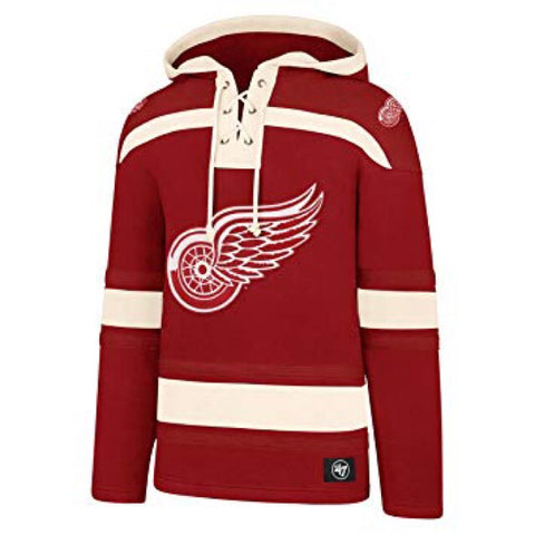 Detroit Red Wings Lacer Fleece Hoodie