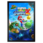 Mario - Super Mario Galaxy 2 Framed Print