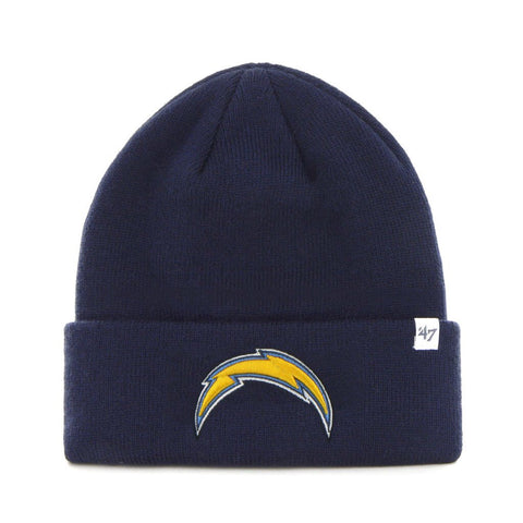 Los Angeles Chargers Raised Cuff Knit Toque