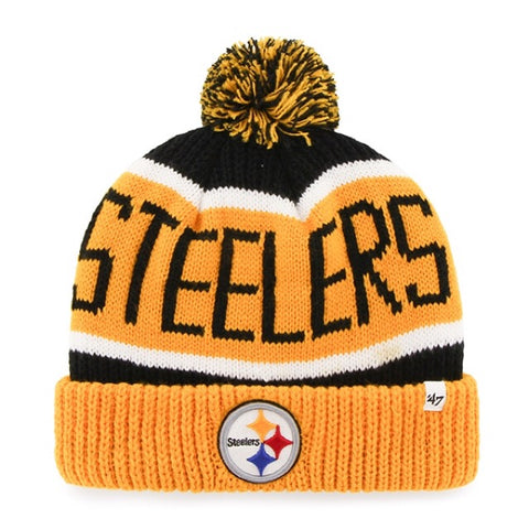 Calgary Cuff Knit Toque Pittsburgh Steelers