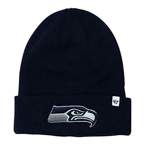 Seattle Seahawks Raised Cuff Knit Toque