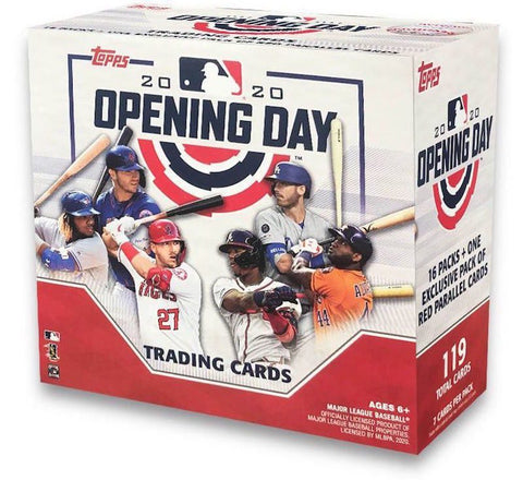 MLB:  Topps Opening Day Baseball Cards 2020 - 6 packs!