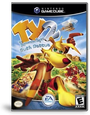 Gamecube- Ty the Tasmanian Tiger 2: Bush Rescue