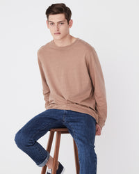 Distant Long Sleeve Tee Sandstone