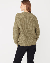 Textured Knit Olive