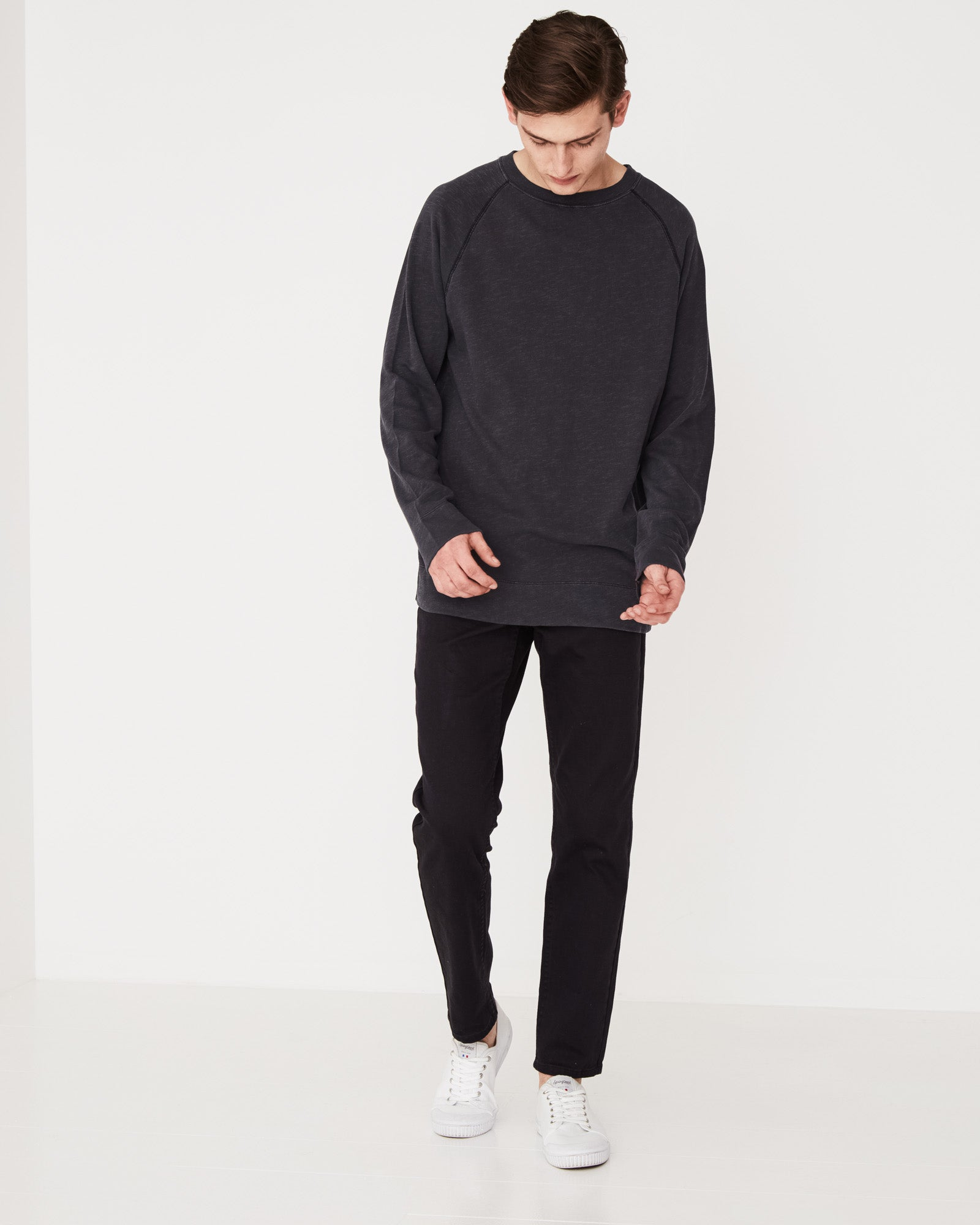 Ocean Lightweight Fleece Black