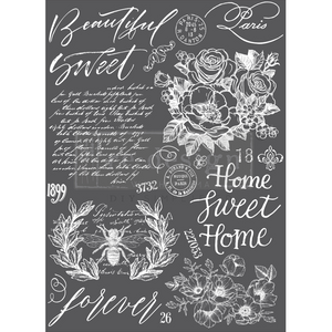 Redesign with Prima Rub On Transfers - Beautiful Home 60.96cmx86.36cm