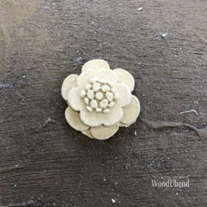 WoodUbend - 4 pack of Simple Flowers #1115