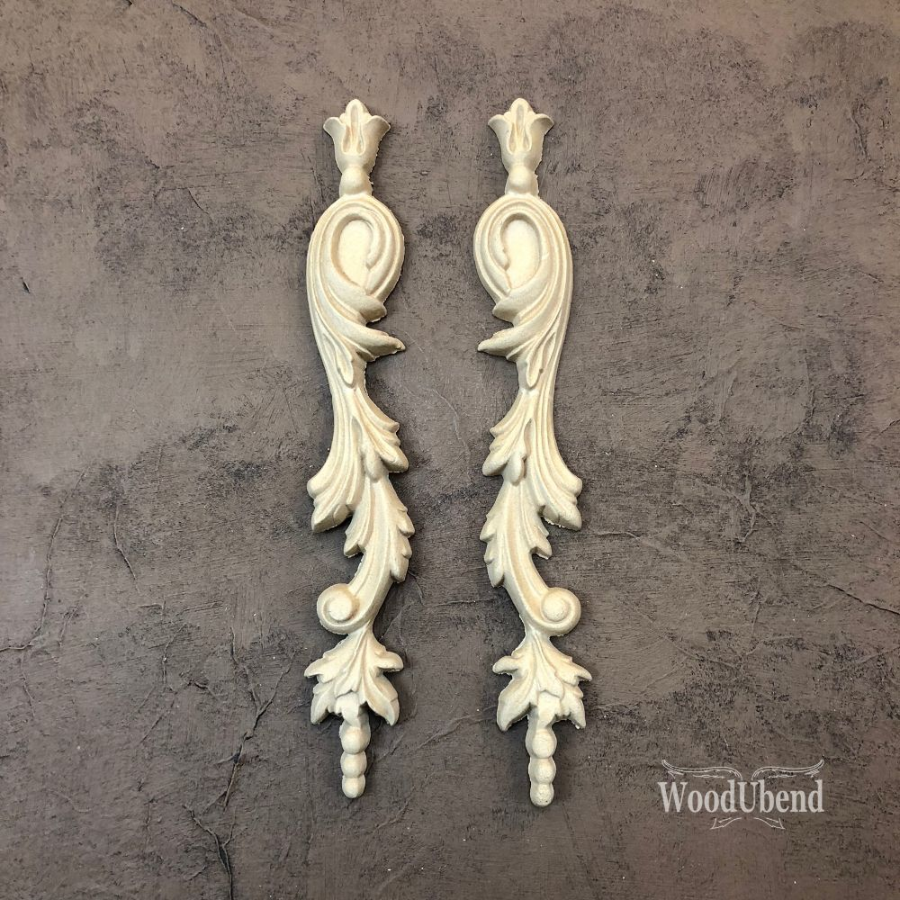 WoodUbend - Decorative Drops #1304 PAIR