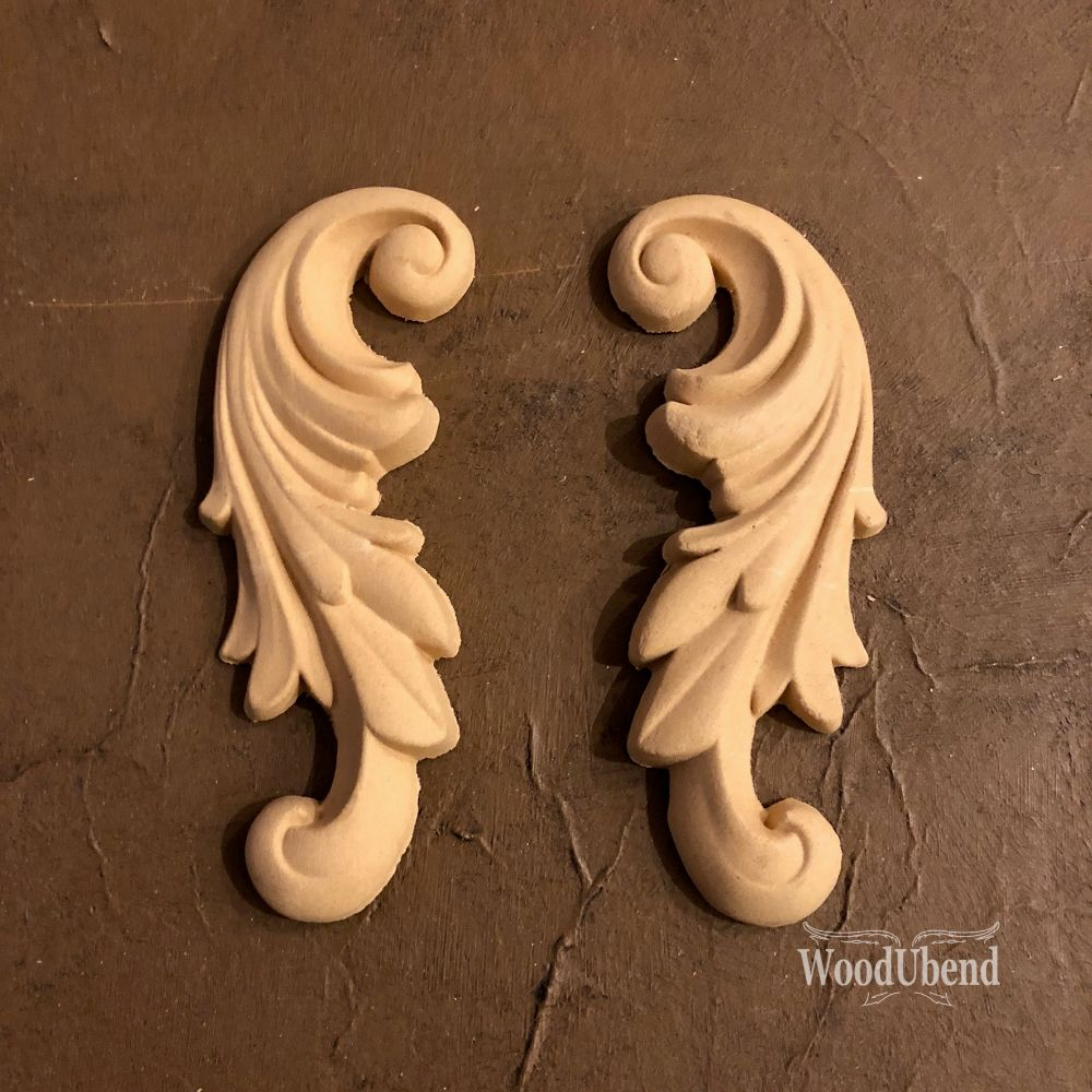 Load image into Gallery viewer, WoodUbend - Decorative Scroll  Pair #1320