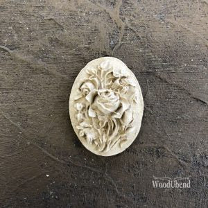 WoodUbend - Floral Plaque #1399