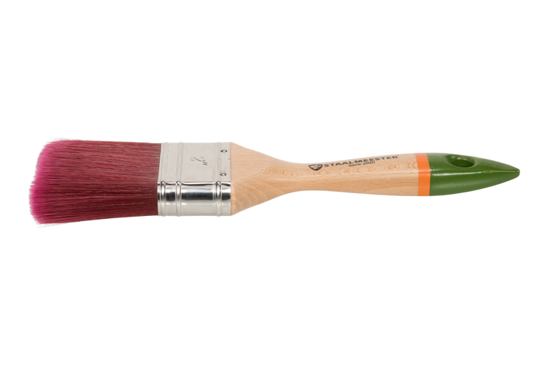 Load image into Gallery viewer, Fusion's Staalmeester paintbrushes - Flat 2023-15