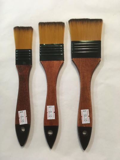 Brushes - Renoir Synthetic Wideflow brushes various sizes
