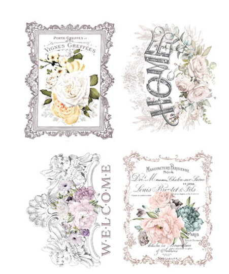 Redesign with Prima Rub On Transfers - Floral Home